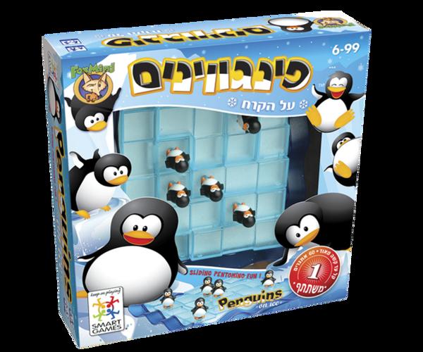 תמונה של משחק חשיבה פינגווינים על הקרח פוקסמיינד