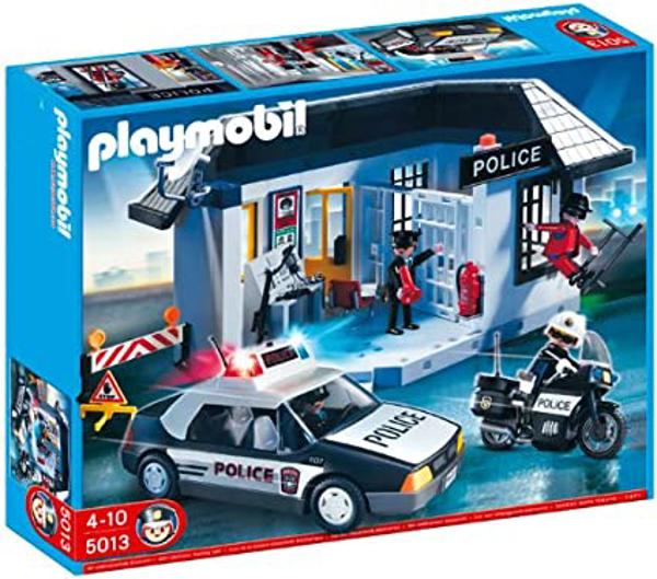 תמונה של פליימוביל סט ענק משטרה 5013