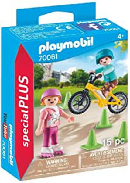 תמונה של פליימוביל ספיישל ילדים עם אופניים וגלגיליות 70061