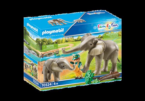 תמונה של פליימוביל גן חיות עירוני בית הגידול של פילים 70324