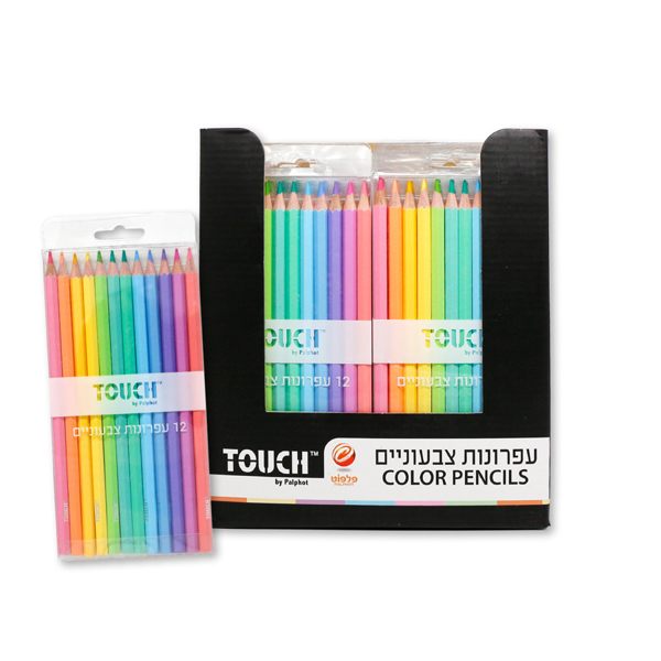 תמונה של 12 עפרונות צבעוניים